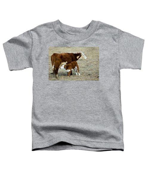 Nursing Calf Toddler T-Shirt