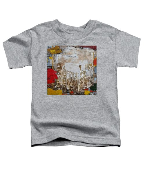 Ny City Collage 7 Toddler T-Shirt