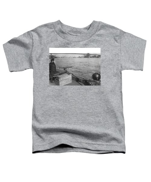 Nyc Prohibition Police Boat Toddler T-Shirt
