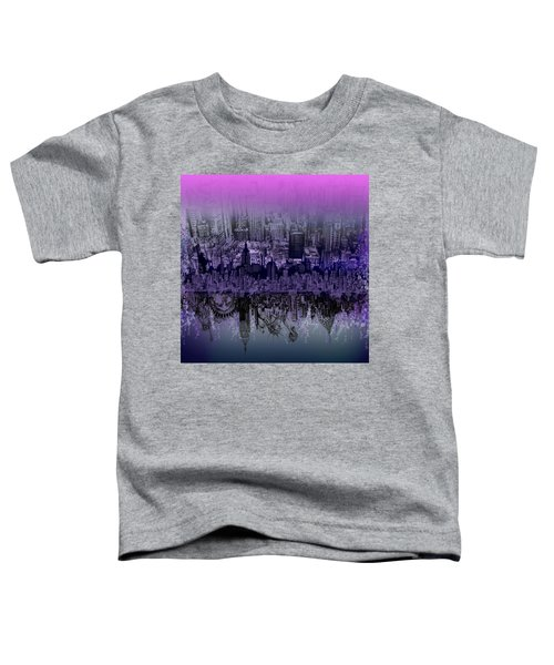 Nyc Tribute Skyline Toddler T-Shirt