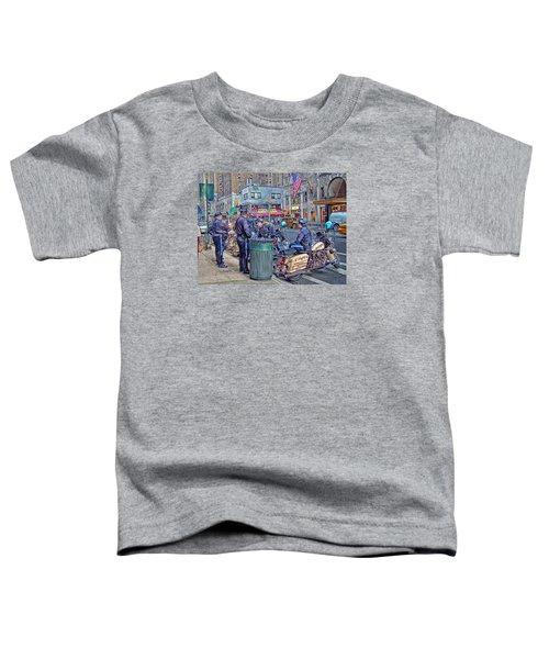 Nypd Highway Patrol Toddler T-Shirt