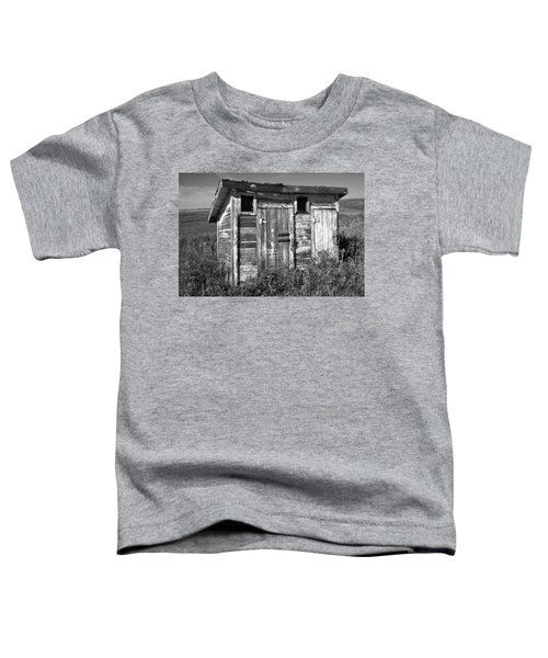 Obsolete Country School Outhouse Toddler T-Shirt