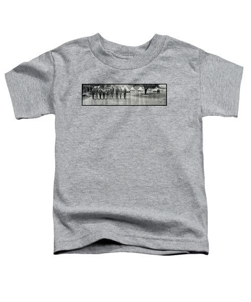 Officers At Camp Newayo, New York State Toddler T-Shirt