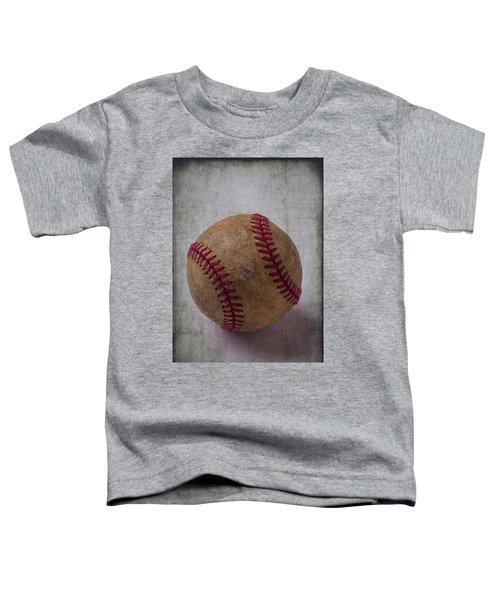 Old Baseball Toddler T-Shirt