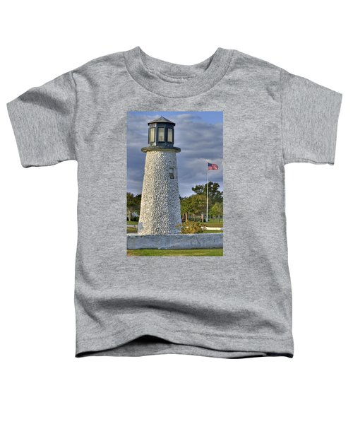 Old Buckroe Lighthouse Toddler T-Shirt