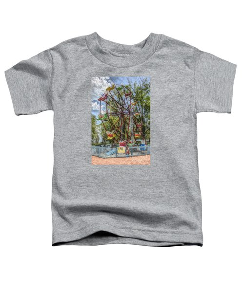 Old Fashioned Ferris Wheel Toddler T-Shirt