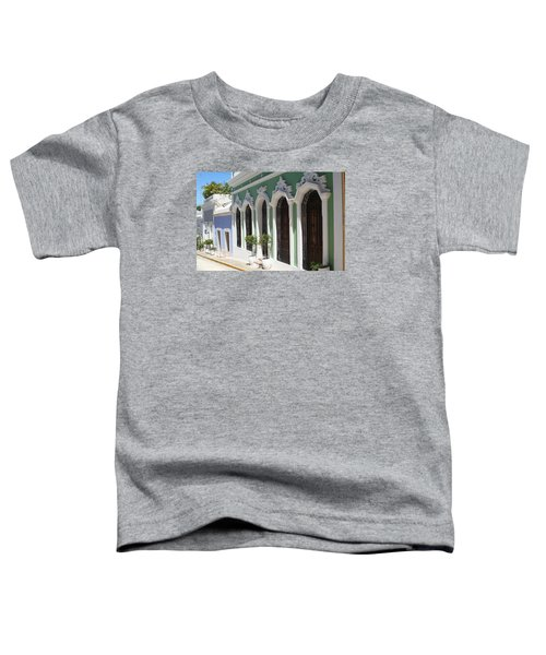 Old San Juan Street Toddler T-Shirt