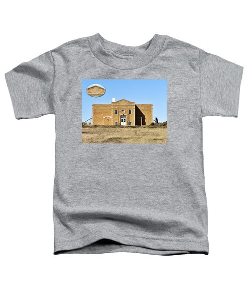 Toddler T-Shirt featuring the photograph Old School by Susan Kinney