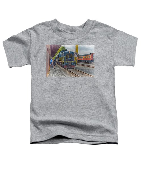 Old Town Sacramento Railroad Toddler T-Shirt
