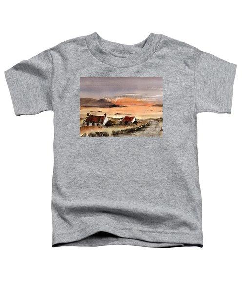 Omey Island Sunset Galway Toddler T-Shirt