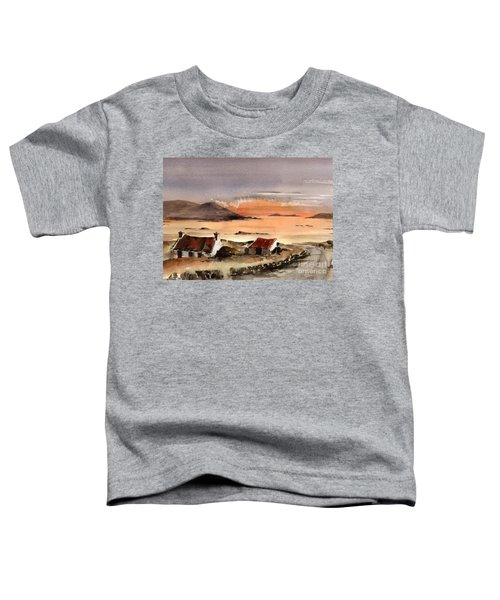 Omey Island Sunset Galway Toddler T-Shirt