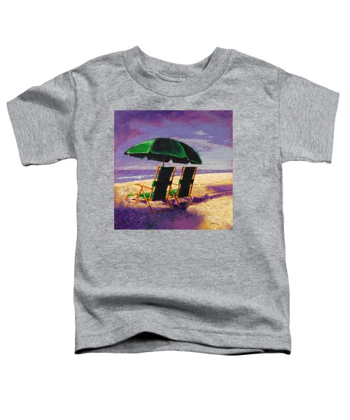 On The Beach Toddler T-Shirt
