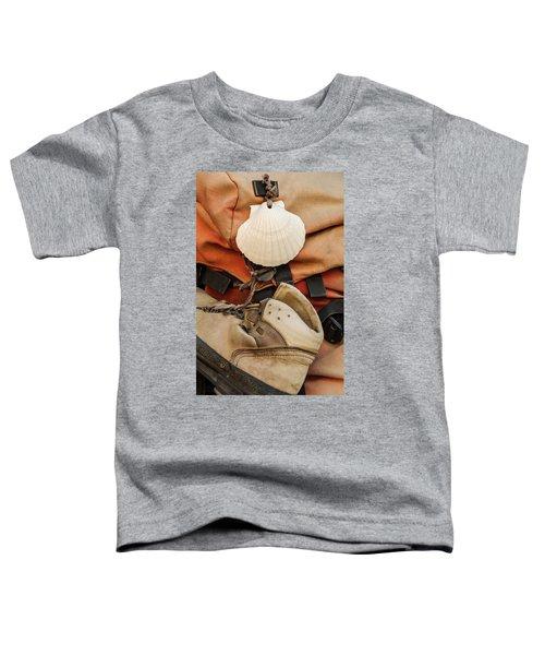 On The Camino De Santiago Toddler T-Shirt