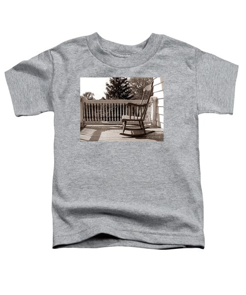 On The Porch Toddler T-Shirt