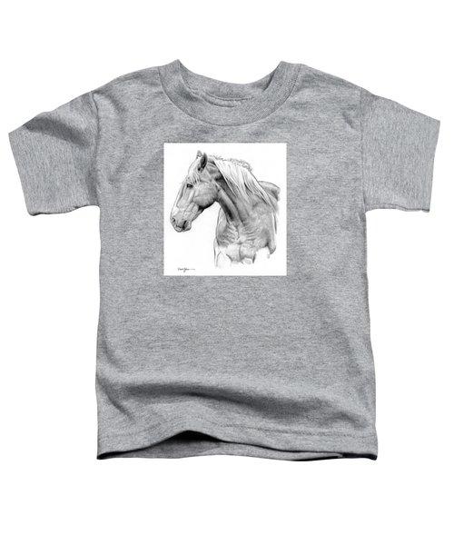Da134 One Horse Daniel Adams  Toddler T-Shirt