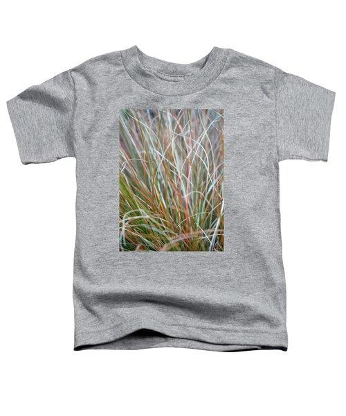 Ornamental Grass Abstract Toddler T-Shirt