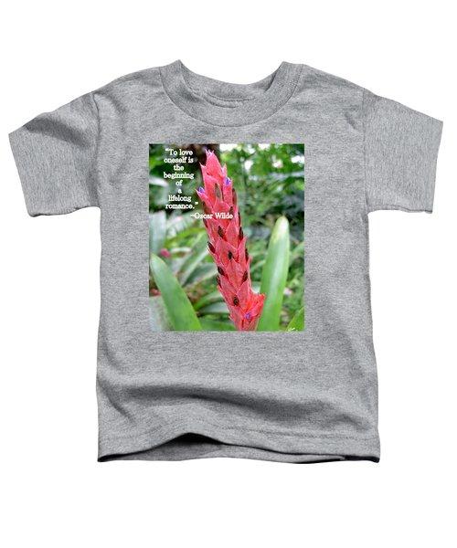 Oscar Wilde Toddler T-Shirt