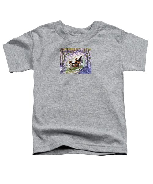 Out In The Meadowbrook Cart Toddler T-Shirt