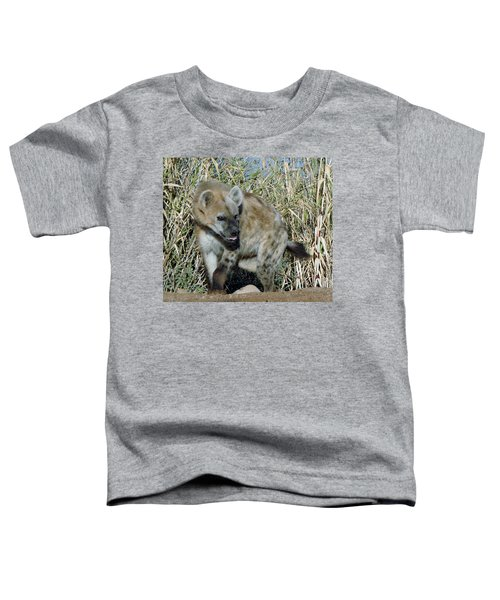 Out Of Africa  Hyena 2 Toddler T-Shirt