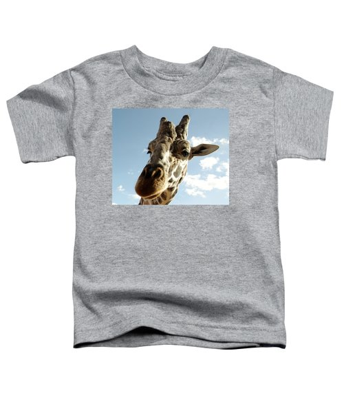 Out Of Africa  Reticulated Giraffe Toddler T-Shirt