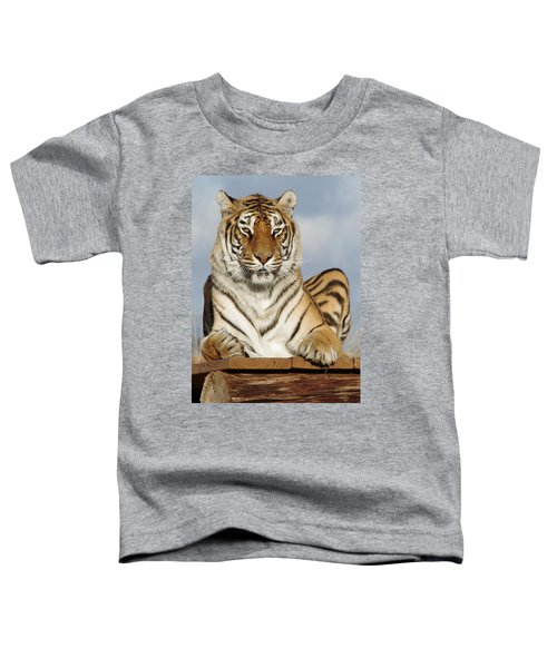 Out Of Africa Tiger 4 Toddler T-Shirt