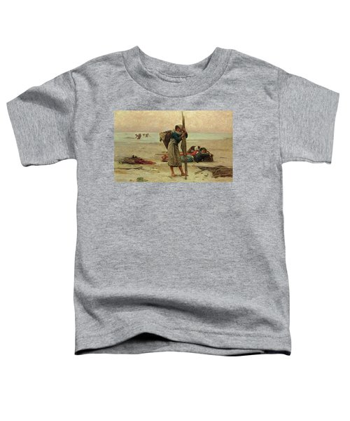 Oyster Catching Toddler T-Shirt