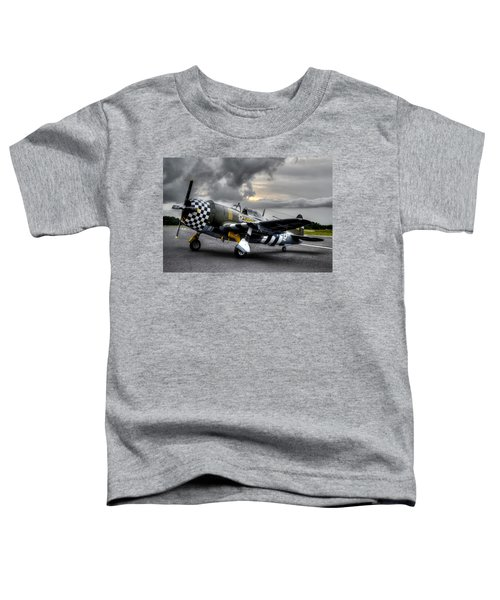 P-47 Sunset Toddler T-Shirt