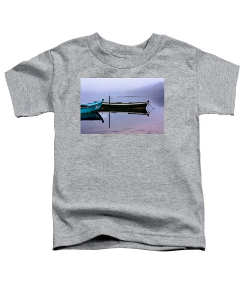 Pacheco Blue Boat Toddler T-Shirt
