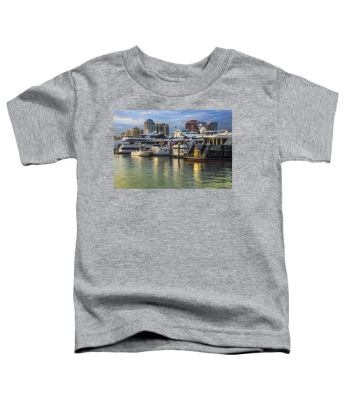 Palm Beach Marina Toddler T-Shirt
