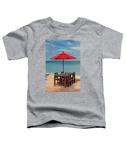 Paradise Dining Toddler T-Shirt