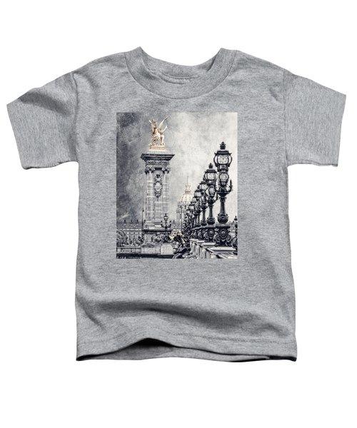 Paris Pompous 2 Toddler T-Shirt by Joachim G Pinkawa
