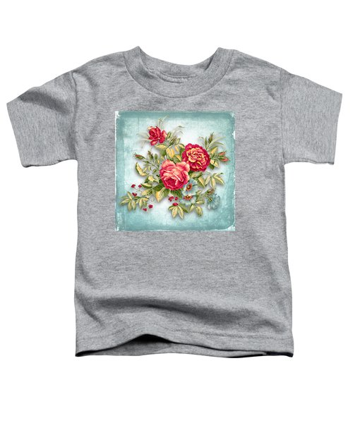 Party Of Flowers  Toddler T-Shirt
