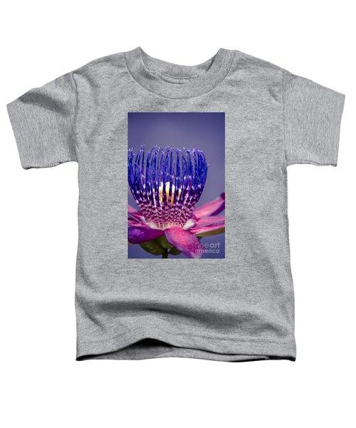 Passiflora Alata - Ruby Star - Ouvaca - Fragrant Granadilla -  Winged-stem Passion Flower Toddler T-Shirt
