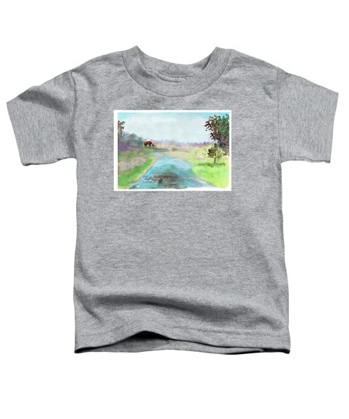 Peaceful Day Toddler T-Shirt