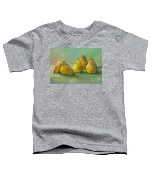 Peaceful Pears Toddler T-Shirt