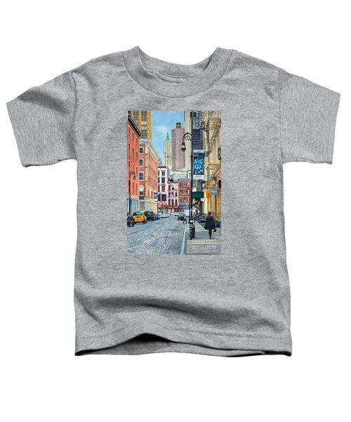 Pearl Paint Canal St. From Mercer St. Nyc Toddler T-Shirt