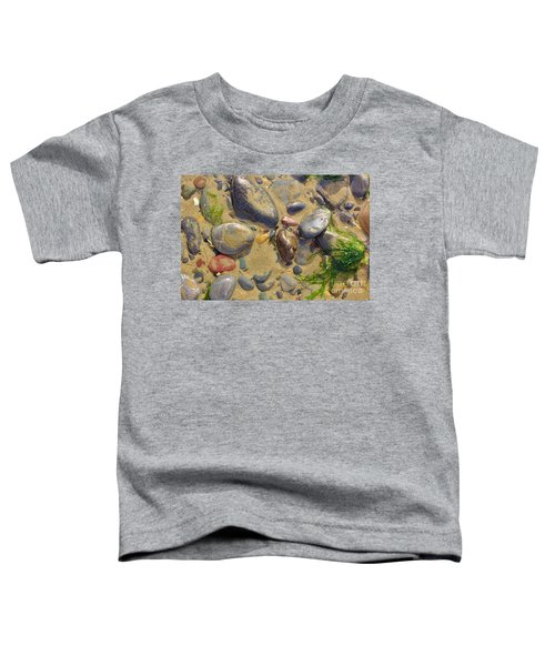 Pebbles On The Beach Toddler T-Shirt