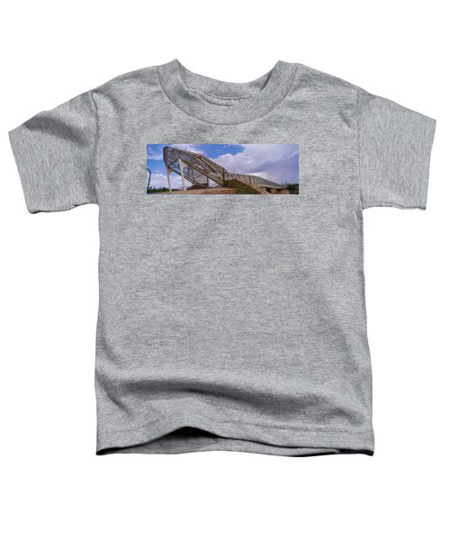 Pedestrian Bridge Over A River, Snake Toddler T-Shirt