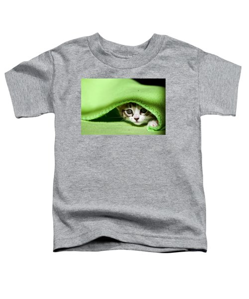 Peeking Toddler T-Shirt