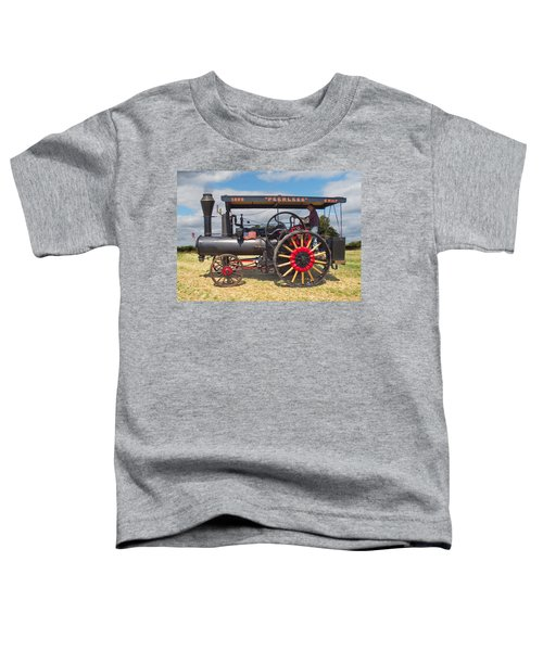 Peerless Steam Traction Engine Toddler T-Shirt