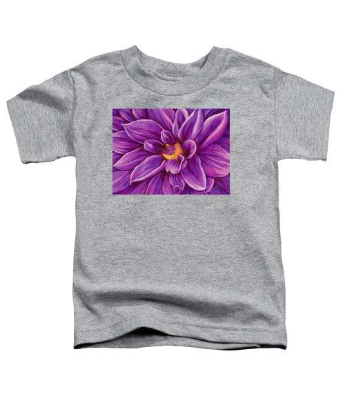 Pencil Dahlia Toddler T-Shirt