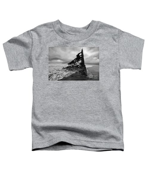 Peter Iredale Shipwreck Oregon 1 Toddler T-Shirt