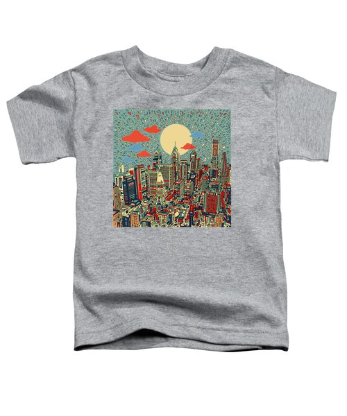 Philadelphia Dream 2 Toddler T-Shirt by Bekim Art