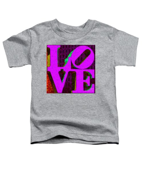 Philadelphia Love - Painterly V2 Toddler T-Shirt