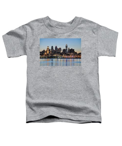 Philly Sunset Toddler T-Shirt