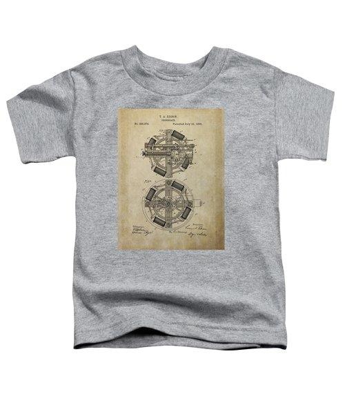 Phonograph Patent Drawing Toddler T-Shirt