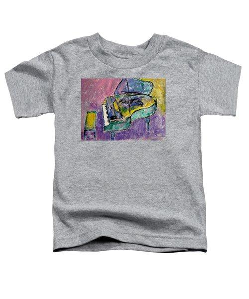 Piano Green Toddler T-Shirt
