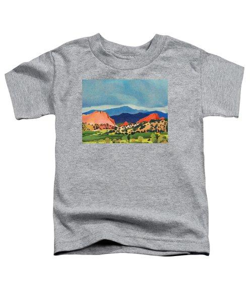 Garden Of The Gods Pikes Peak Toddler T-Shirt