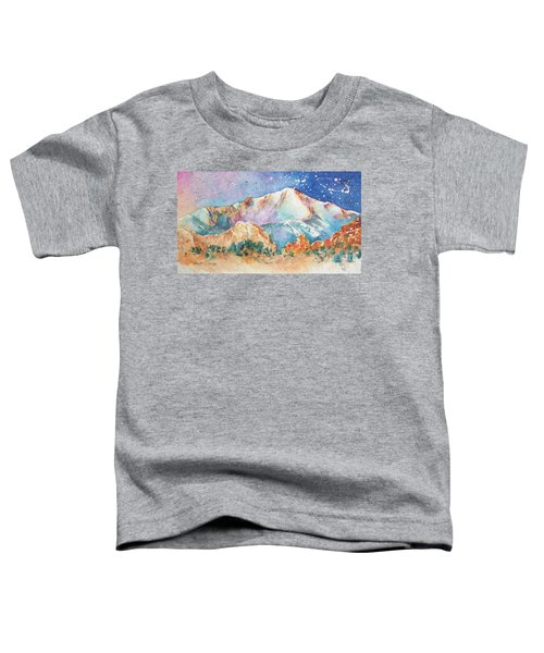 Pikes Peak Over The Garden Of The Gods Toddler T-Shirt