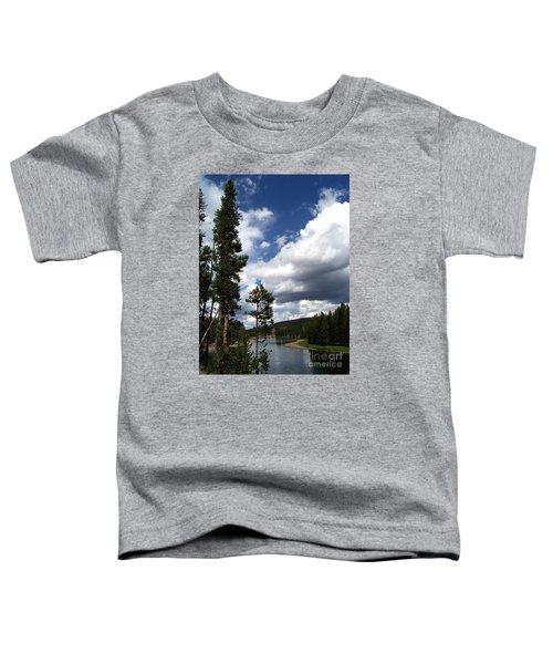 Pine On The Yellowstone River Toddler T-Shirt